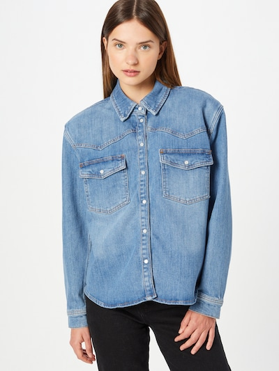 Bluză 'Samantha' 2NDDAY pe albastru denim, Vizualizare model