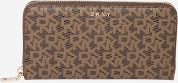 DKNY Portemonnaie 'Bryant' in Braun