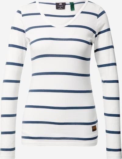 G-Star RAW Majica 'Eyben' | mornarska / bela barva, Prikaz izdelka