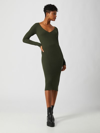 LeGer by Lena Gercke Knit dress 'Josefin' in Green, View model
