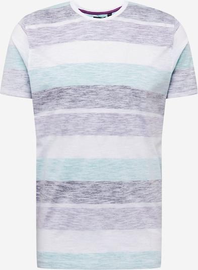 Tricou 'RANGEX' BRAVE SOUL pe bej amestecat / albastru amestec / mov amestecat / alb, Vizualizare produs
