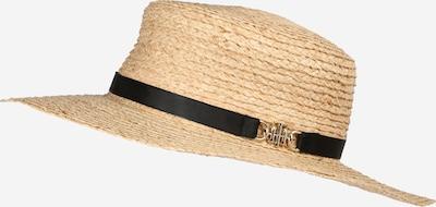 TOMMY HILFIGER Hut 'SUMMER FEDORA' in nude / schwarz, Produktansicht