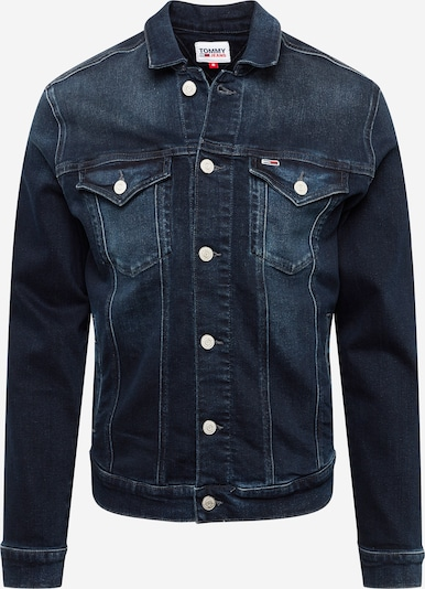 Tommy Jeans Veste mi-saison en bleu foncé, Vue avec produit