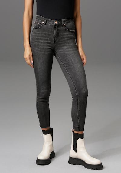 Aniston CASUAL Jeans in Black denim, View model