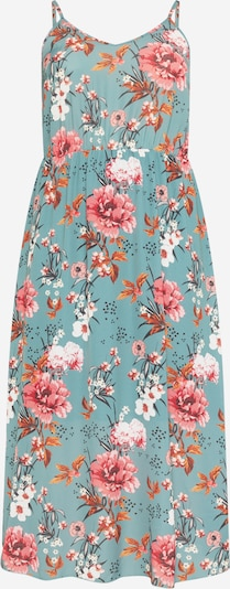 ABOUT YOU Curvy Vestido de verano 'Shannon' en azul / rosa, Vista del producto