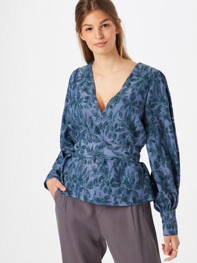 IVY & OAK Bluse in taubenblau / petrol, Modelansicht