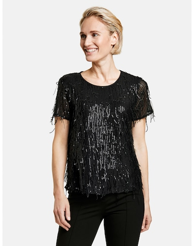 GERRY WEBER Bluse in schwarz, Modelansicht
