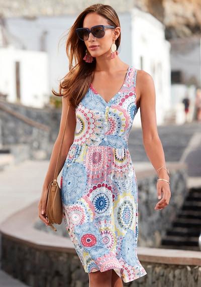 VIVANCE Kleid in blau / mischfarben: Frontalansicht