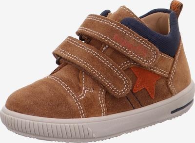 SUPERFIT Sneaker 'MOPPY' in navy / braun / rostrot, Produktansicht