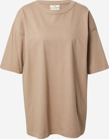A LOT LESS T-Shirt 'Dakota' in Beige
