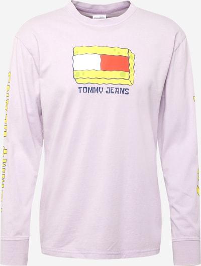 Tricou Tommy Jeans pe galben / mov deschis / roșu deschis / alb, Vizualizare produs