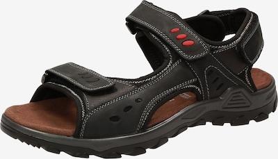SIOUX Sandale 'Oneglio-700' in schwarz, Produktansicht
