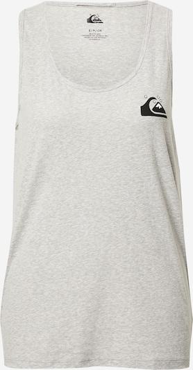 QUIKSILVER Top en gris moteado / negro / blanco, Vista del producto