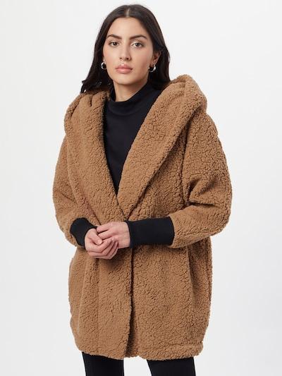 Demisezoninis paltas 'Cuddle' iš Noisy may , spalva - ruda / juoda, Modelio vaizdas