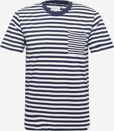 NOWADAYS Camiseta en azul oscuro, Vista del producto