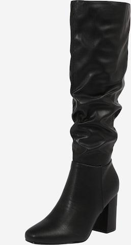 NEW LOOK Μπότες 'CUBOID' σε μαύρο