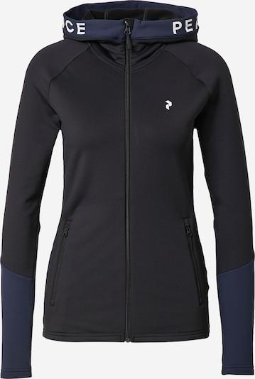 sötétszürke / fehér PEAK PERFORMANCE Sport szabadidős dzsekik, Termék nézet