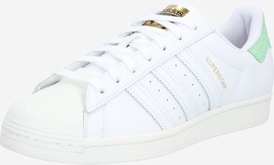ADIDAS ORIGINALS Sneaker 'Superstar' in gold / mint / weiß, Produktansicht