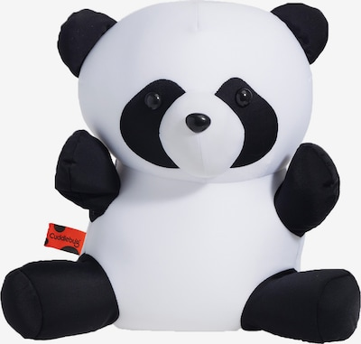 CuddleBug Reisekissen Pluche Travel pillow Panda in schwarz, Produktansicht