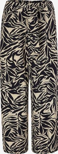 s.Oliver BLACK LABEL Broek in de kleur Lichtbeige / Zwart, Productweergave