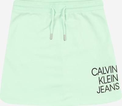 Calvin Klein Jeans Sukně - zelená / černá, Produkt