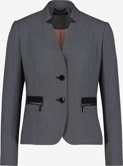 Betty Barclay Blazer en gris chiné / noir, Vue avec produit