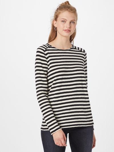 Marc O'Polo DENIM Shirt in schwarz / weiß: Frontalansicht