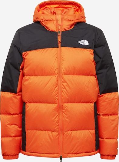 THE NORTH FACE Outdoorová bunda 'DIABLO' - tmavooranžová / čierna, Produkt