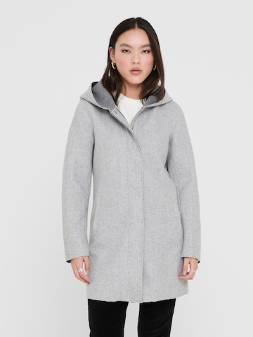 Manteau mi-saison 'ONLSIRI' ONLY en gris