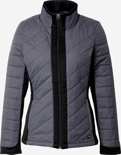 PUMA Jacke in grau / schwarz, Produktansicht
