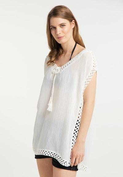 Usha Tunika in weiß, Modelansicht