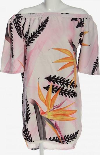 Styleboom Kurzarmkleid in S in hellorange / pink / schwarz, Produktansicht