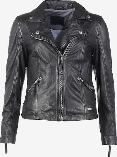 MUSTANG Lederjacke in schwarz, Produktansicht