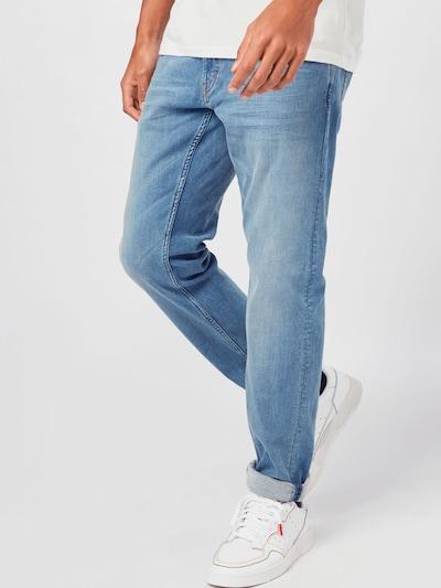 Džinsai 'Oregon' iš MUSTANG , spalva - tamsiai (džinso) mėlyna, Modelio vaizdas