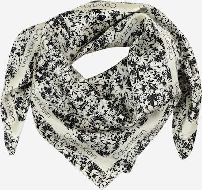 Calvin Klein Tuch in creme / schwarz, Produktansicht
