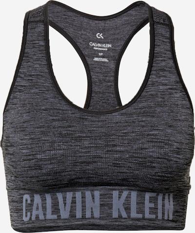 Calvin Klein Performance Спортен сутиен в сиво / черен меланж, Преглед на продукта