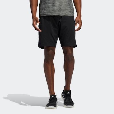ADIDAS PERFORMANCE ' Tokyo Badge of Sport Shorts ' in hellrot / schwarz: Frontalansicht