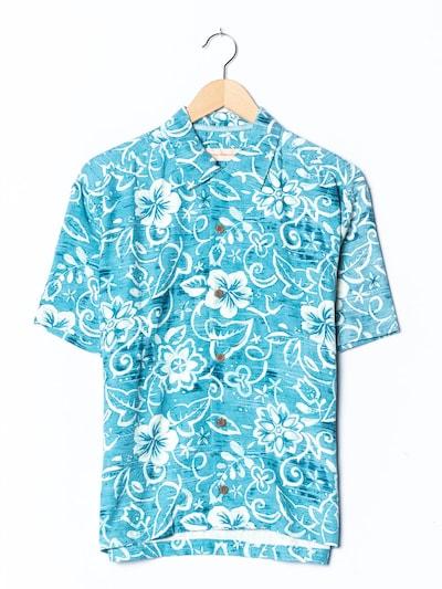 Tommy Bahama Hawaiihemd in S-M in türkis, Produktansicht