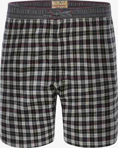 Luca David Pyjamashorts ' Olden Glory Bermuda ' in mischfarben, Produktansicht