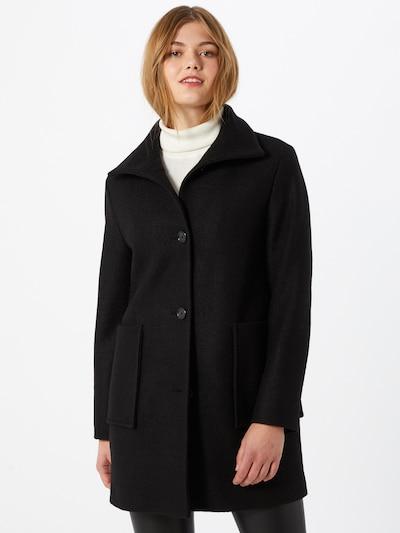 BOSS Manteau mi-saison 'Oktober' en noir, Vue avec modèle