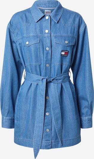 Tommy Jeans Bluse in blue denim, Produktansicht