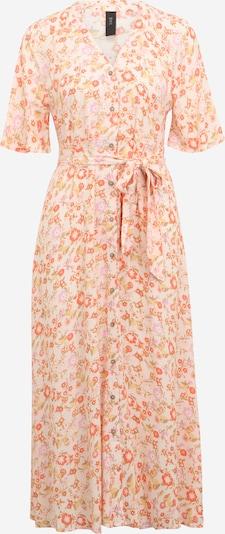 Rochie tip bluză 'WIMA' Y.A.S Petite pe galben pastel / kaki / lila / portocaliu / alb coajă de ou, Vizualizare produs