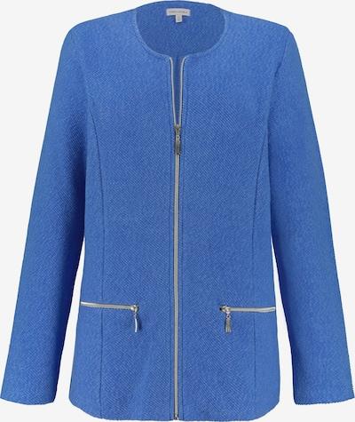 Gina Laura Sweatjacke in blau, Produktansicht