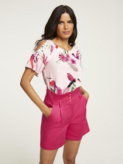 heine Bluse in mischfarben / pastellpink, Modelansicht