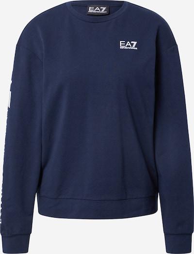 EA7 Emporio Armani Bluzka sportowa w kolorze granatowy / białym, Podgląd produktu