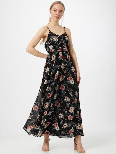 ABOUT YOU Robe en mélange de couleurs / noir, Vue avec modèle