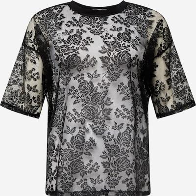 GLAMOROUS CURVE T-shirt en noir, Vue avec produit