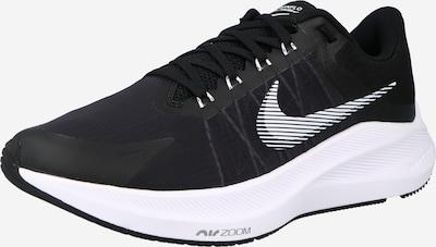 NIKE Sportschoen 'ZOOM WINFLO 8' in de kleur Zwart / Wit, Productweergave