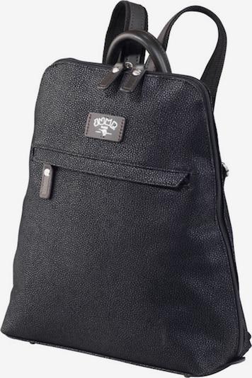 Jump Rucksack 'Uppsala' in schwarz, Produktansicht