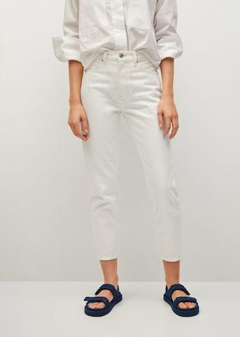 MANGO Jeans in Wit